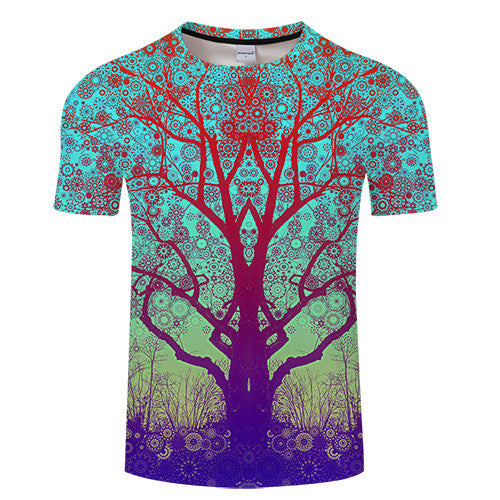 T-Shirt Col Rond Mystical Forest