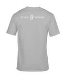 Style & Grinds Tee In Grey