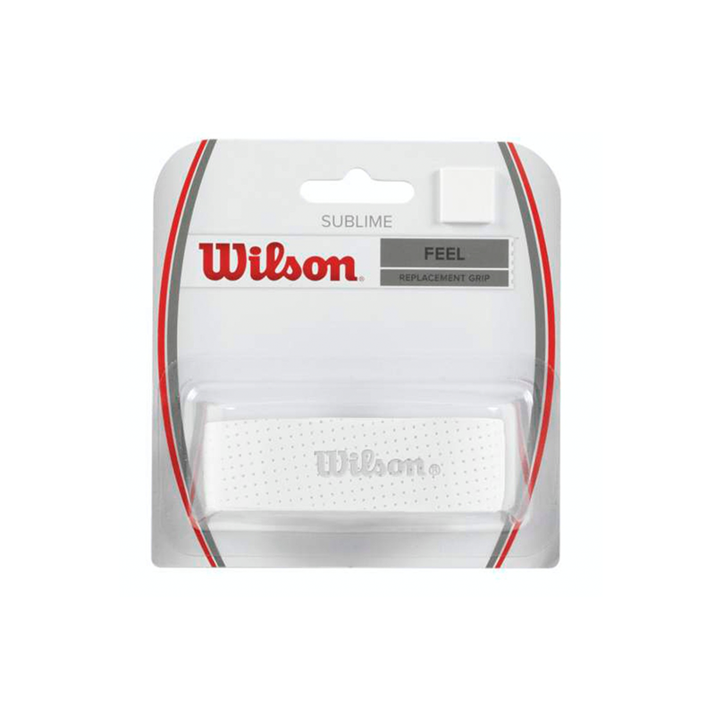 Wilson Sublime Replacement Grip - White-Grips-online tennis store canada