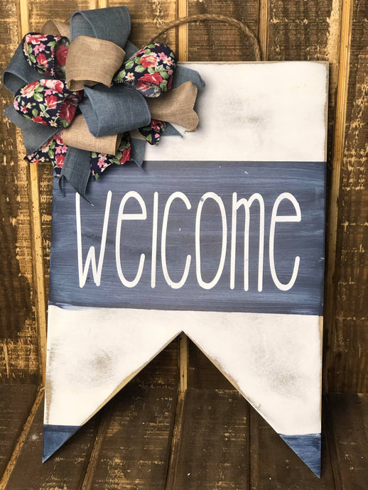 Welcome Sign - Woodman Decor