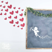 Load image into Gallery viewer, Cupid Stars and Hearts Valentine SVG File (SVG, DXF, EPS, & Png) - Cut File -Cricut, Silhouette