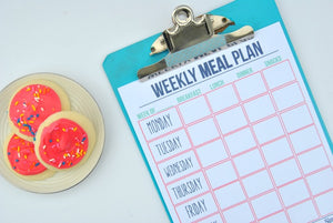 Meal Planning Cheat Sheets - PDF