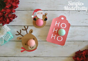 Christmas EOS Lip Balm Card - PDF