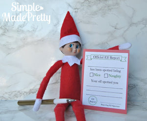 Christmas Elf Activity Pack - PDF