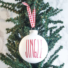 Load image into Gallery viewer, Christmas Ornament Decals LARGE - Rae Dunn (DECALS only shipped)
