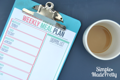 Meal Planning Bundle - PDF