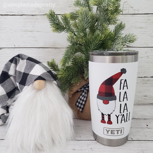Gnome Mug Decal for Christmas (DECAL only Shipped)