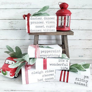Stamped Books - The BIG Bundle of Printable Farmhouse Stamped Book Covers (490+ pages!) - PDF