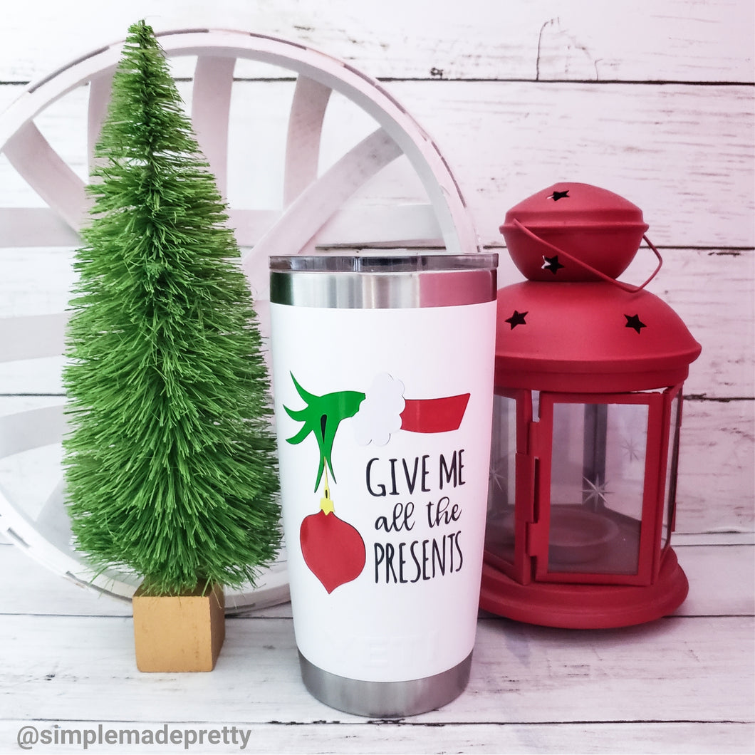 Grinch Mug Decal for Christmas (DECAL only Shipped)