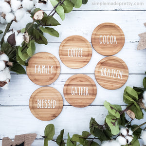 Decals for Mini Rolling Pins & More!