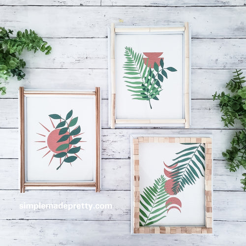 BIG Bundle of Boho Wall Art (30+ Total Prints!) - PDF