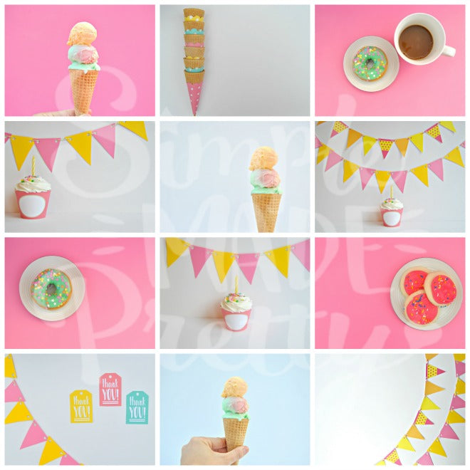 Pink & Yellow Celebrations Stock Photos {12 Photos}