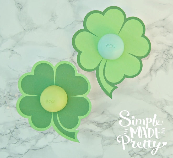 St. Patrick's Day EOS cards printable gift idea