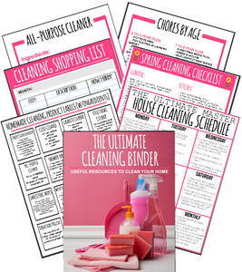 Ultimate Cleaning Binder