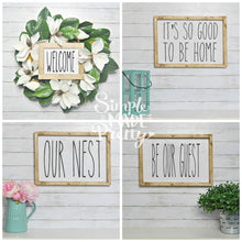 Load image into Gallery viewer, **Rae Dunn Inspired** Farmhouse Signs (70+ Total Wall Signs!) - PDF