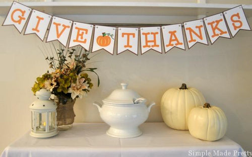 Thanksgiving Printable Decor Package - PDF