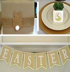 Easter Decor Printable Package - PDF