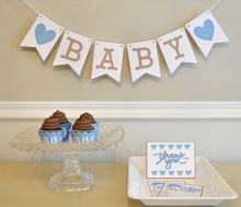 Load image into Gallery viewer, Baby Shower Party Package in Blue - PDF