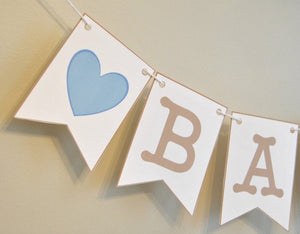Baby Shower Party Package in Blue - PDF