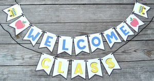 Welcome Class Banner for Teachers - PDF