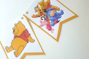 Winnie the Pooh Birthday Party Printable Package - PDF