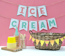 Load image into Gallery viewer, Ice Cream Party Printable Package - PDF