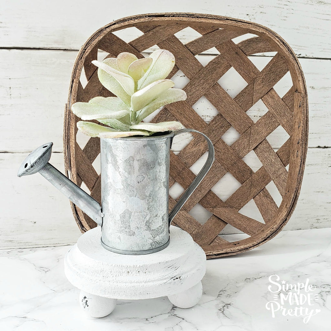 Mini Wood Riser, Farmhouse Pedestal Riser Stand (Riser Only Shipped)