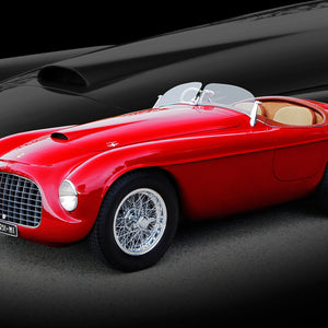 1949 Ferrari Barchetta by Breck Rothage, Limited Edition Print