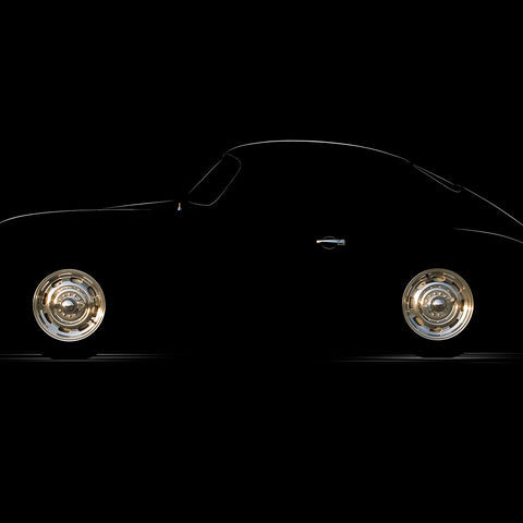 1956 Porsche 356A Coupe by Breck Rothage, Limited Edition Print