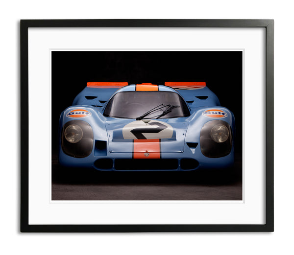 Porsche 917, Front View by Rick Graves