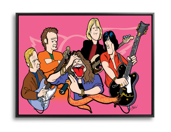 Aerosmith by Anthony Parisi, Limited Edition Print