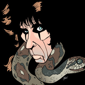 Alice Cooper, Limited Edition Print