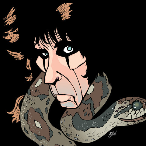 Alice Cooper by Anthony Parisi, Limited Edition Print