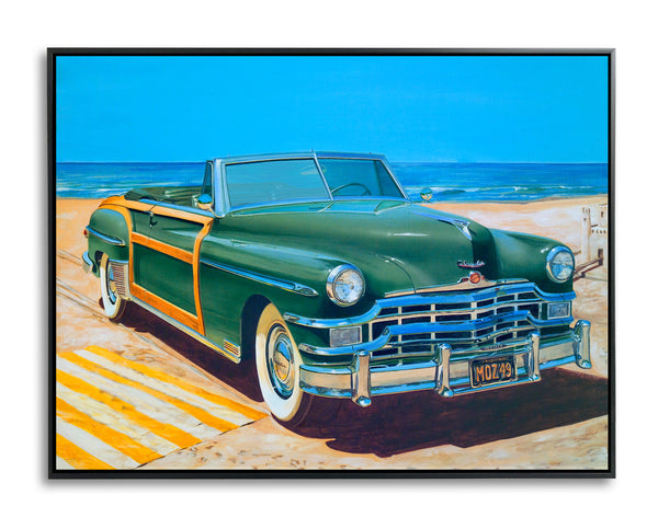 Beach Blanket by Bruce Burr, Limited Edition Print