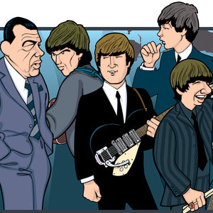 Beatles 40th Anniversary by Anthony Parisi, Limited Edition Print