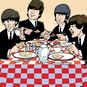 Beatles Breakfast by Anthony Parisi, Limited Edition Print
