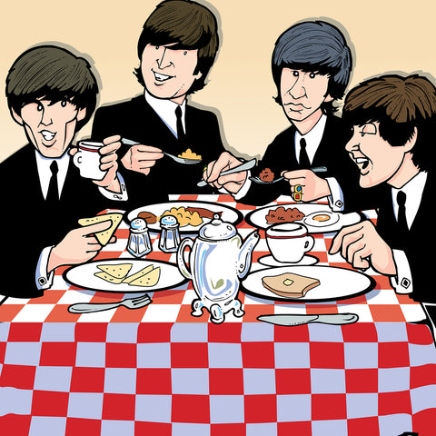 Beatles Breakfast, Limited Edition Print