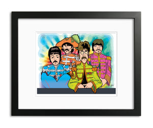 Beatles Sargent Pepper by Anthony Parisi, Limited Edition Print