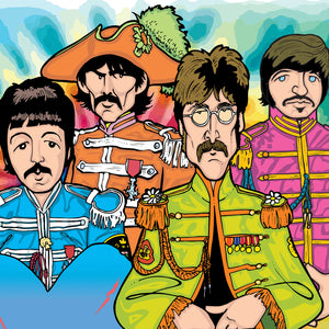 Beatles Sargent Pepper, Limited Edition Print