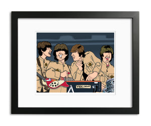 Beatles at Shea Stadium by Anthony Parisi, Limited Edition Print