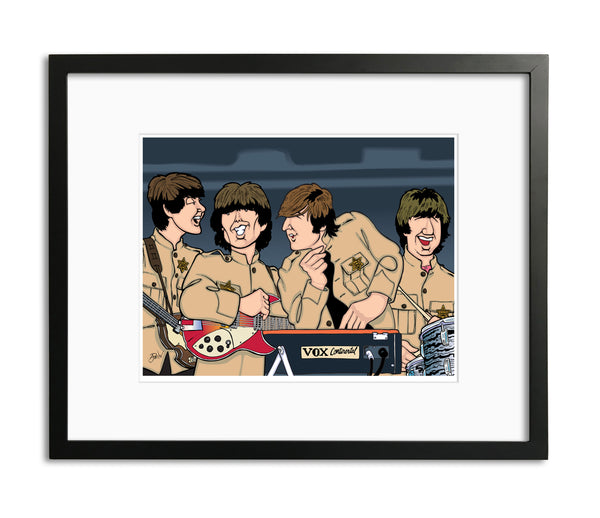 Beatles at Shea Stadium, Limited Edition Print