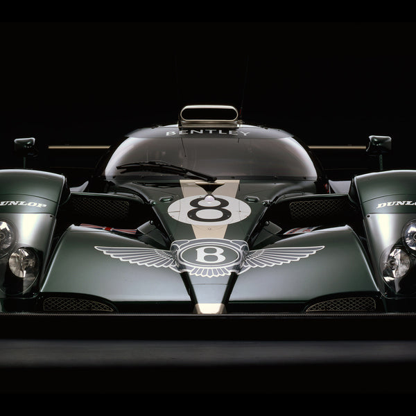 Bentley Speed 8, Front View by Rick Graves