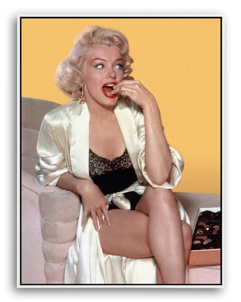 Marilyn Monroe, Bon Bons, Limited Edition Print on paper and canvas