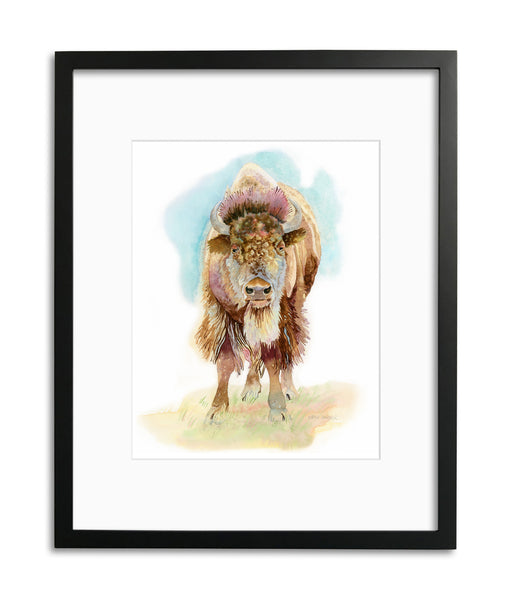 Buffalo Wisdom by Kathy Harder, Limited Edition Print