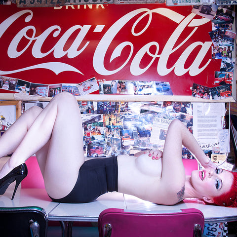 Coca-Cola Queen by Chris Gomez, Limited Edition Print