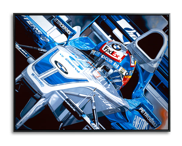 Juan Pablo Montoya, The Colombian Challenge by Colin Carter