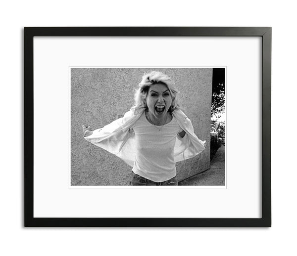 Debbie Harry, Scream, Limited Edition Print