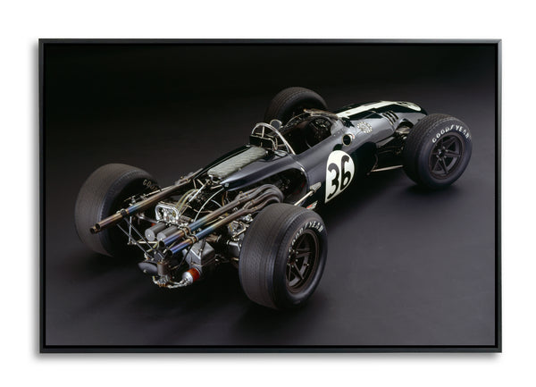 Eagle-Weslake V12, 1967, Rear View by Rick Graves
