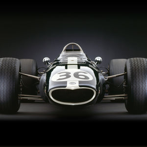 Eagle-Weslake V12, 1967, Front View by Rick Graves