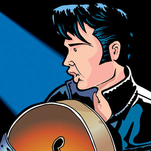 Elvis Presley by Anthony Parisi, Limited Edition Print